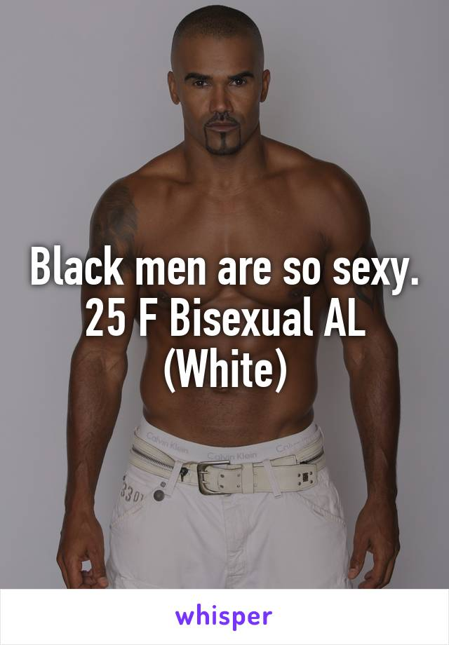 Bisexual black man