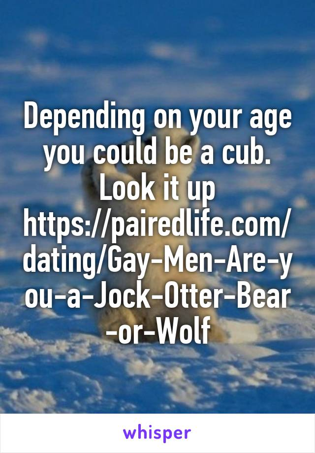 gay cub dating