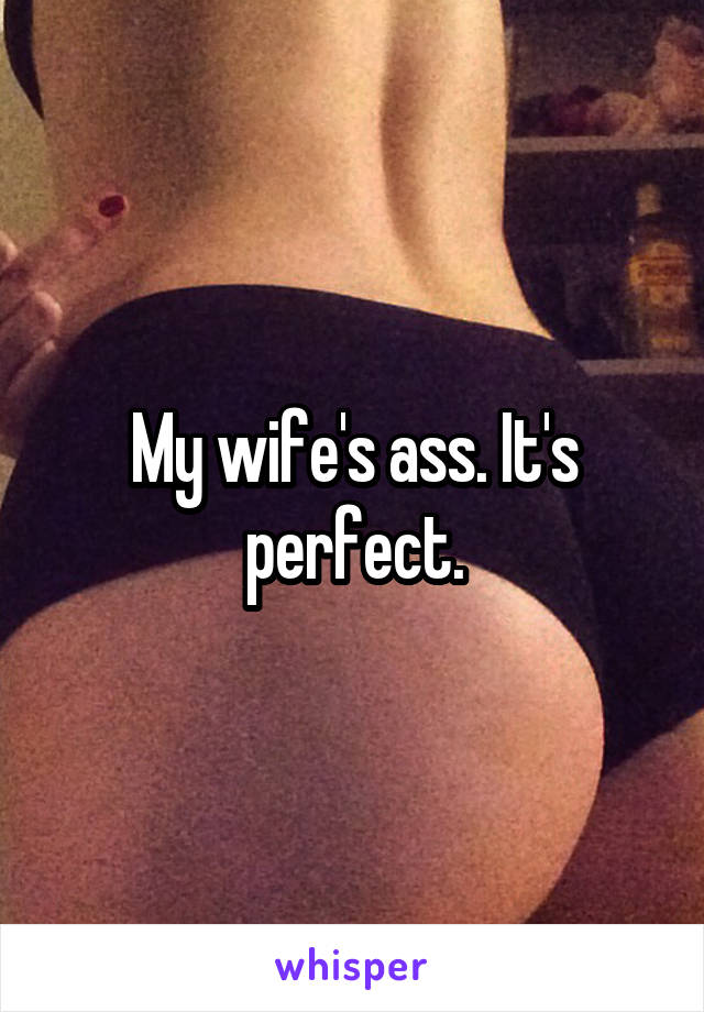 Big ass wifes at home