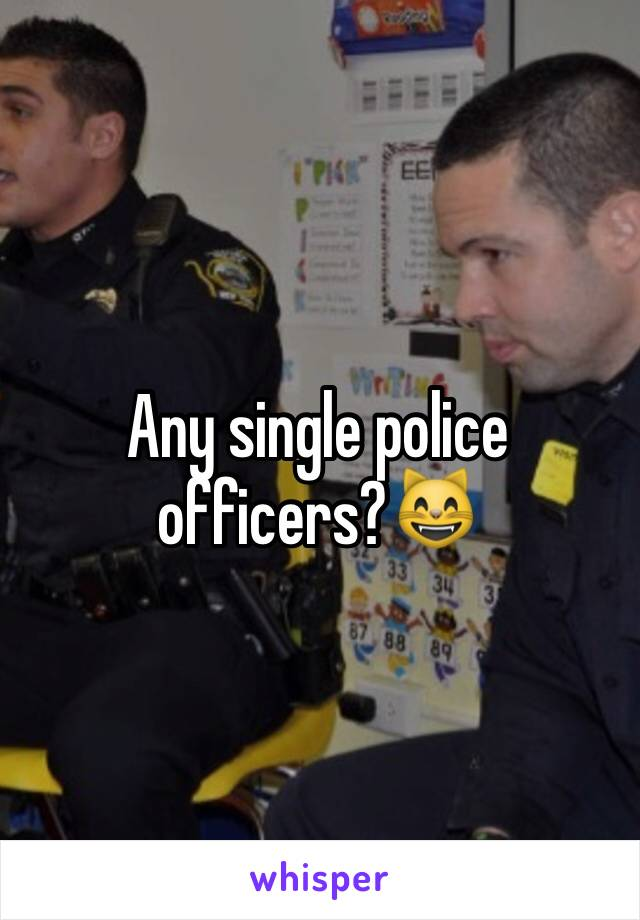 Single police officers