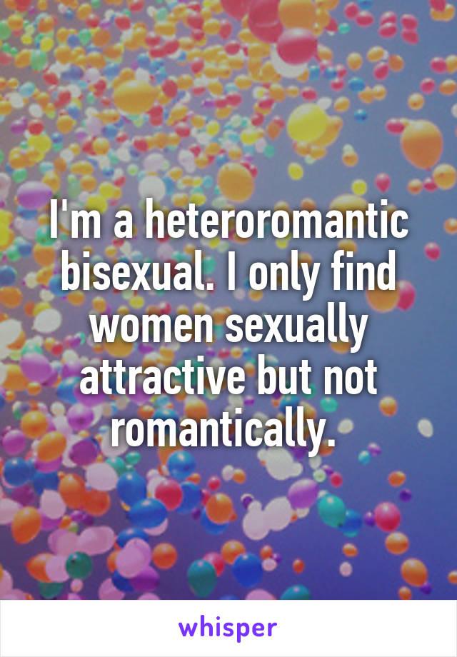 What is a heteroromantic bisexual
