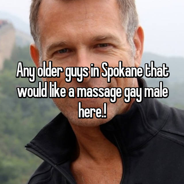 Gay massage spokane