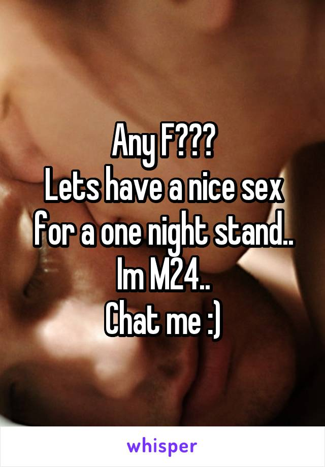 one night stand chat