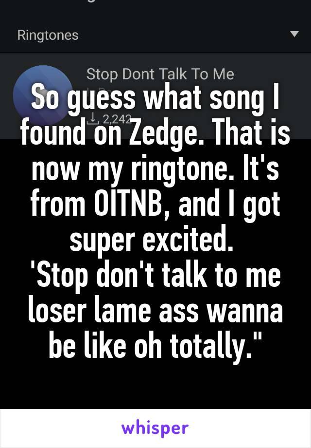 my zedge ringtones wont work