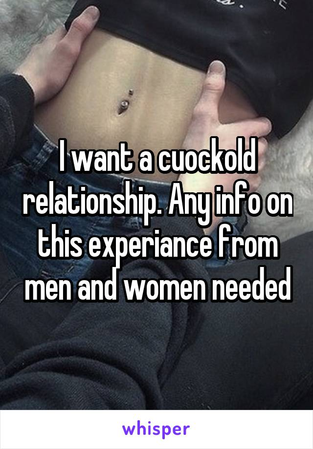Men want to be needed