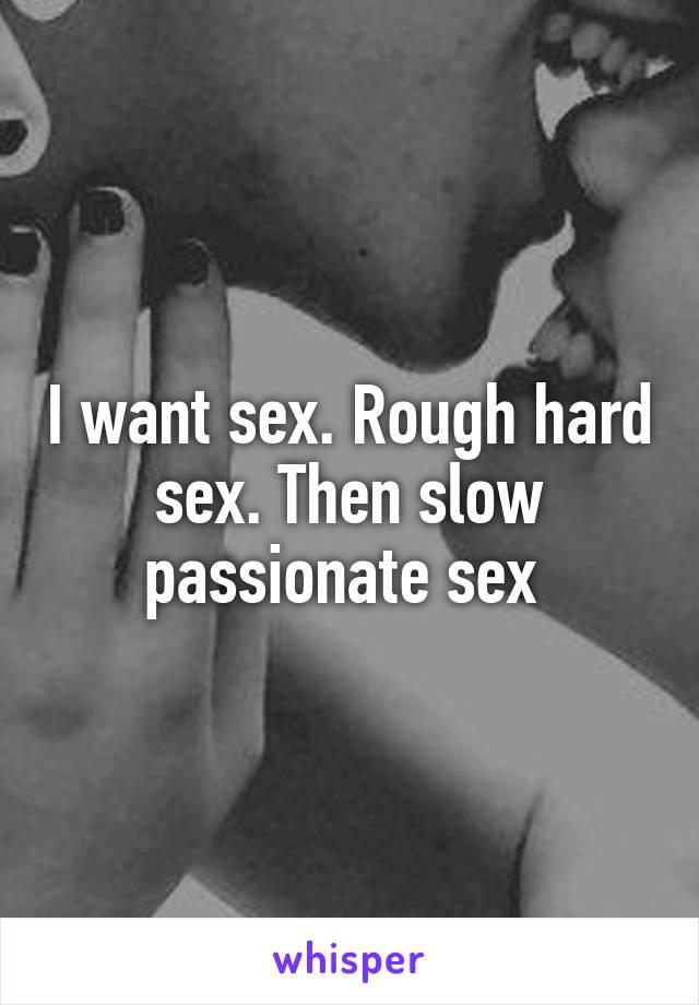 Slow pasionate sex