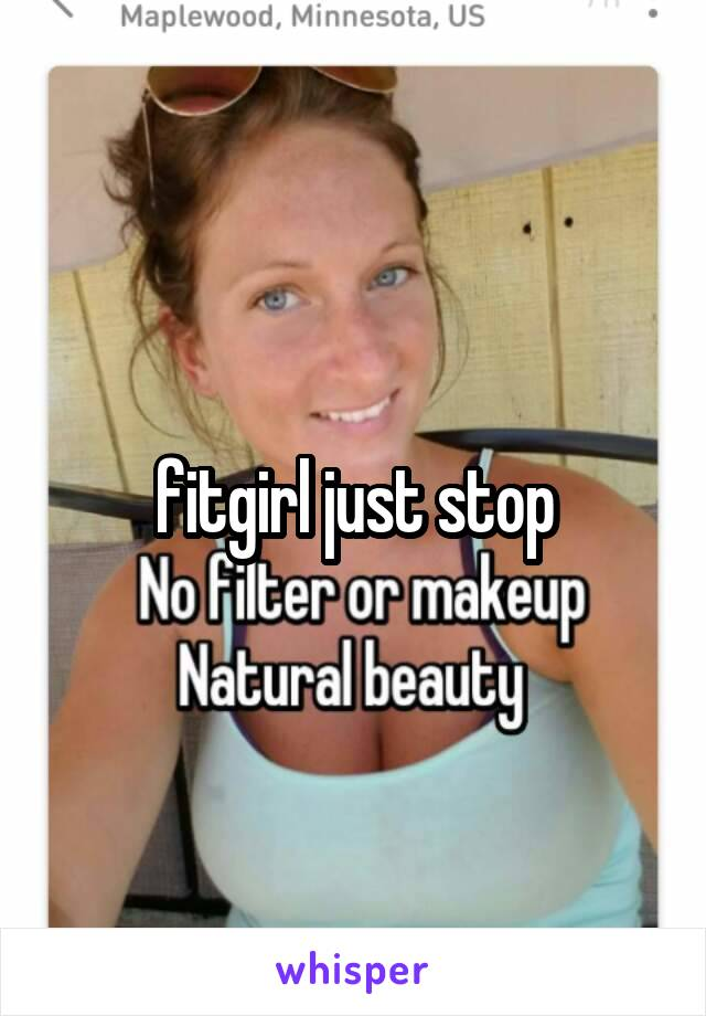 fitgirl just stop