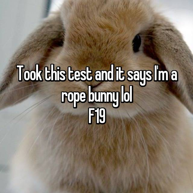 rope bunny test