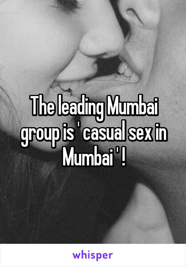 Casual sex in mumbai