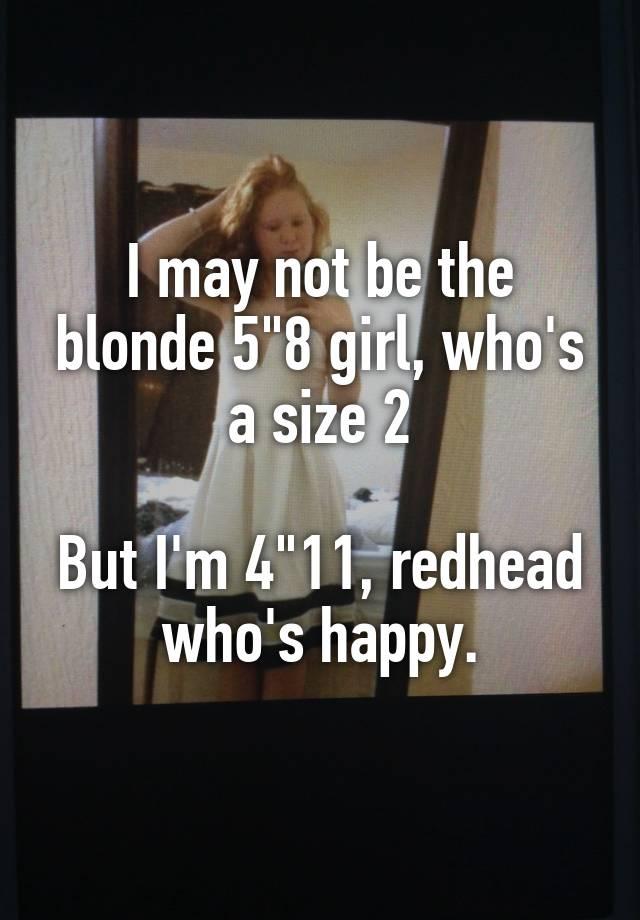 4 11 redhead model