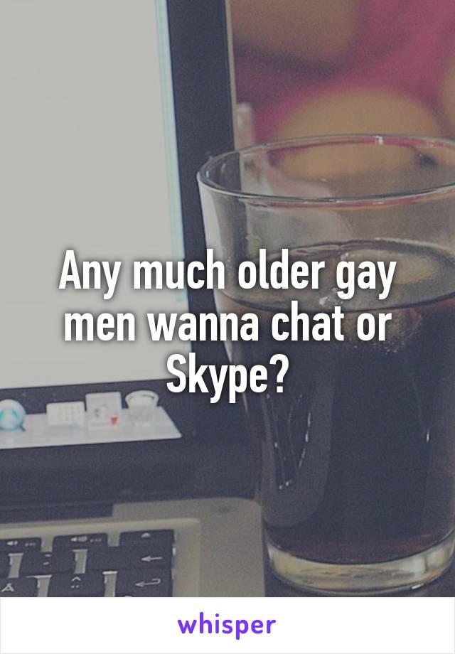 Gay skype older
