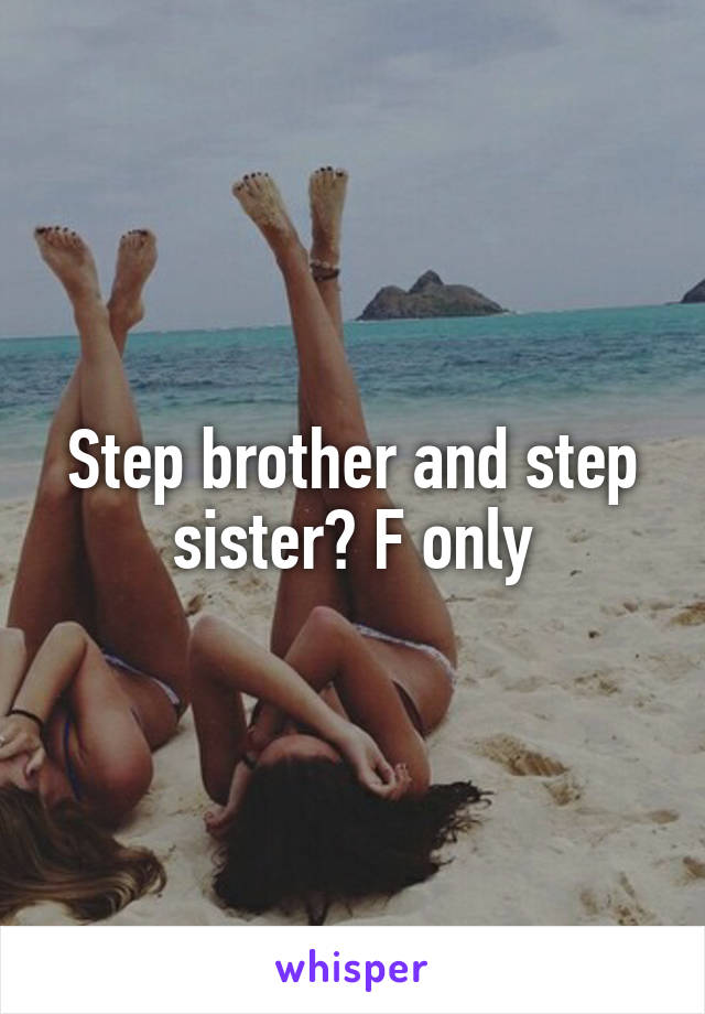 Brother Step Sister Beach