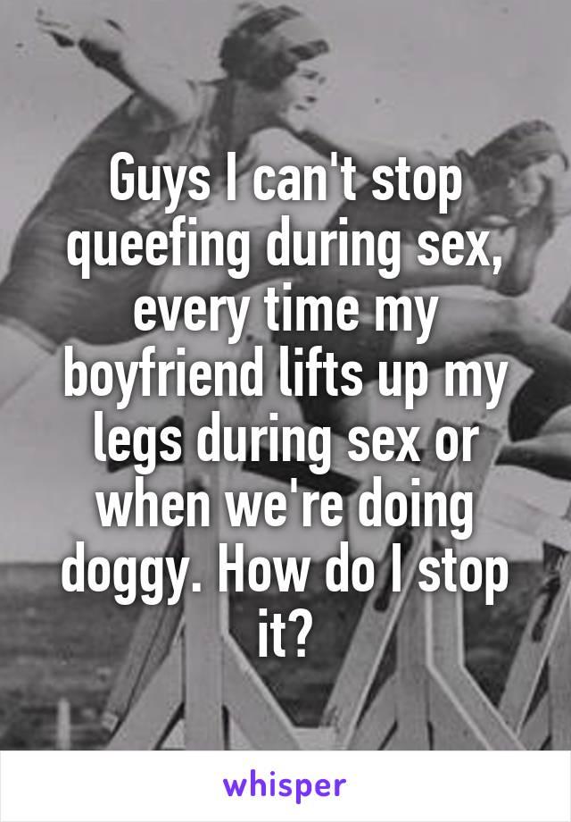 Ways to stop queefing
