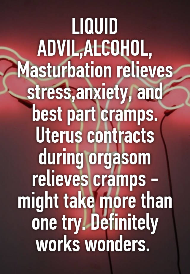 Have anxirty induced by masturbation excellent phrase