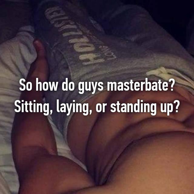 should guys masterbate