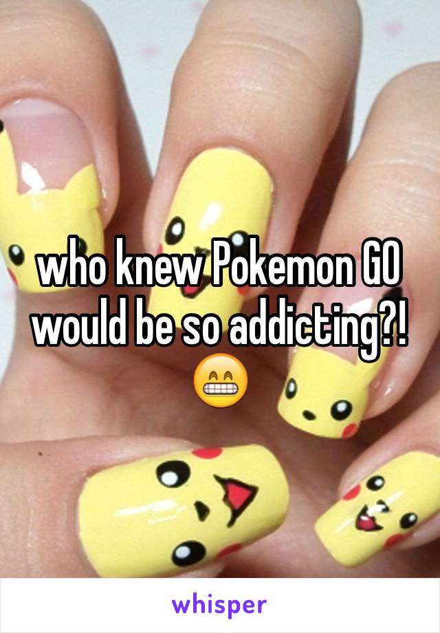 who knew Pokemon GO would be so addicting?! 😁