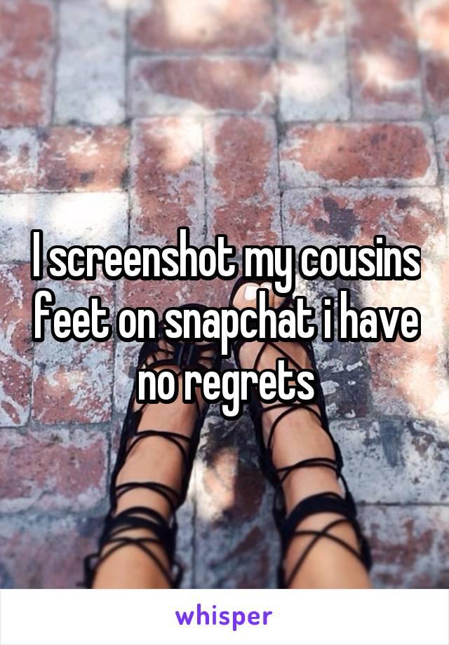 Snapchat feet Snapchat for