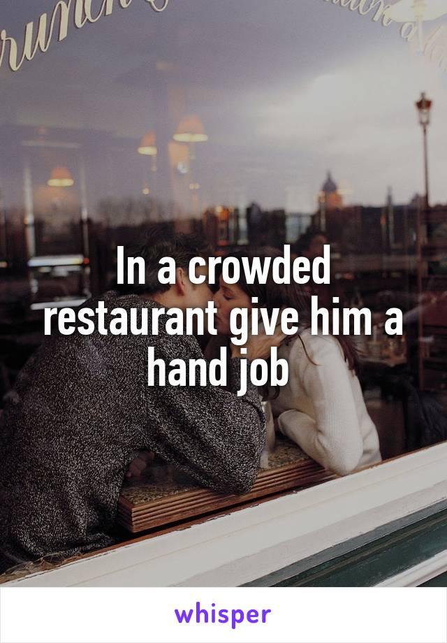 Sky And Hand Job
