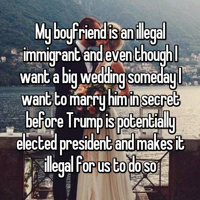 Dating illegal immigrant