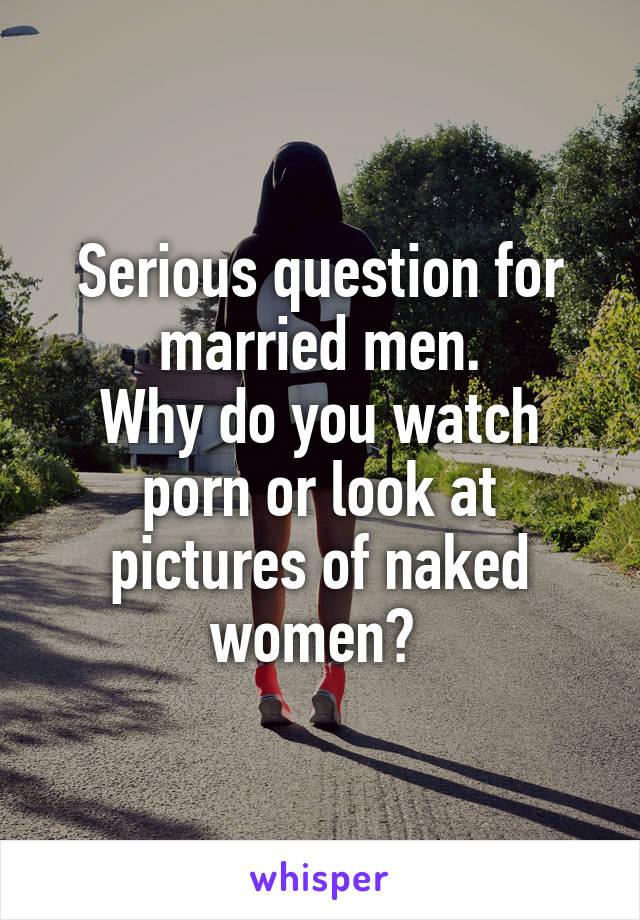 married men who watch porn