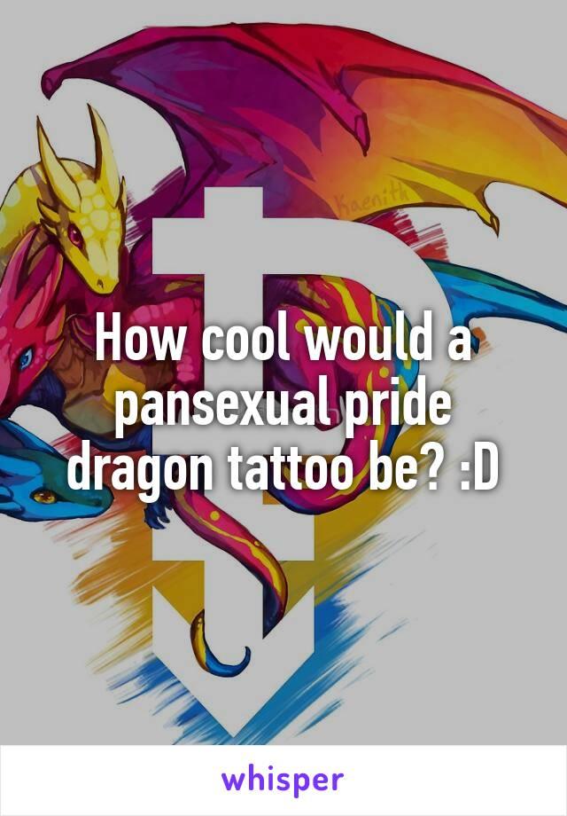 Pansexual tattoo