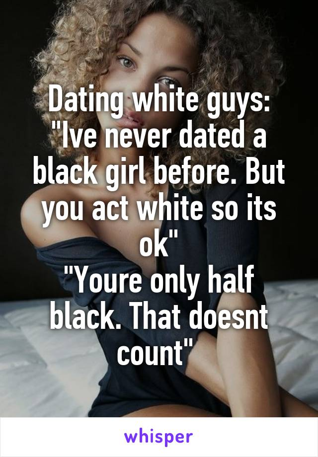 White guy dating half black girl — photo 1
