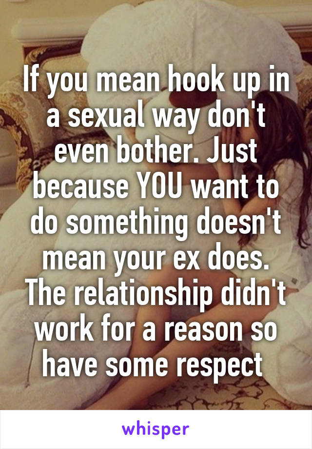 If Your Hookup Does That Mean Your In A Relationship