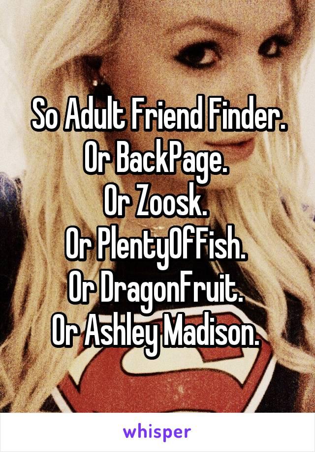 finder Adult net friend