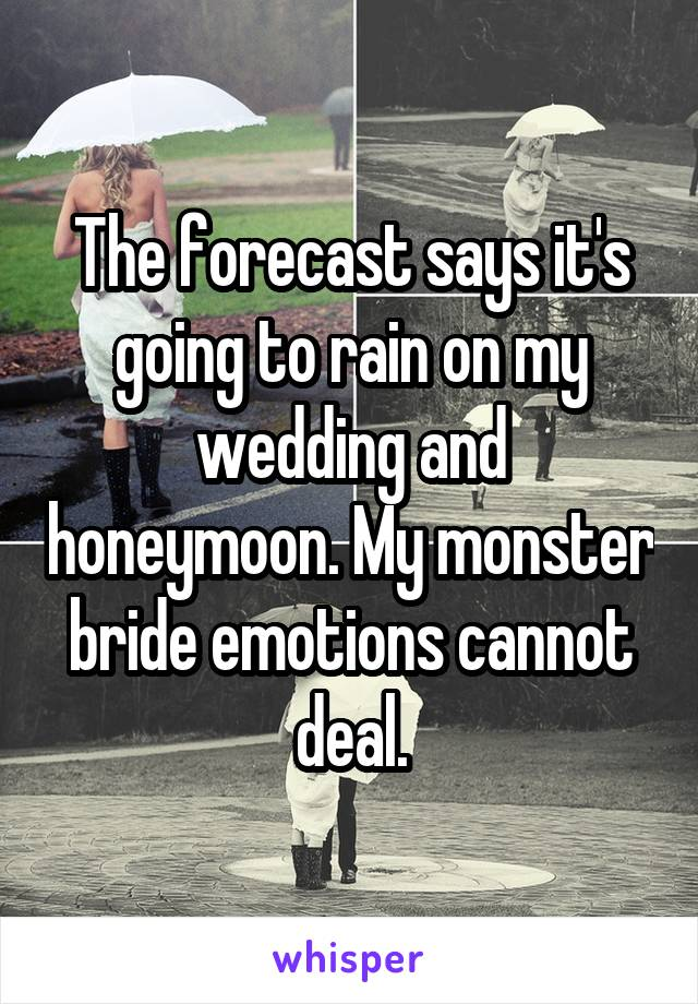 Rain On Your Wedding Day.Rain On Your Wedding Day Good Luck Or Bad