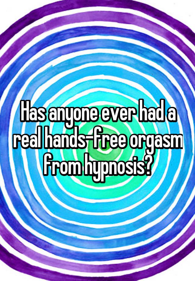 Hypno Hands Free Orgasm