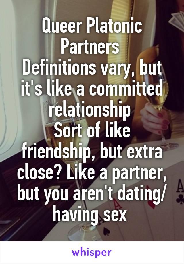 Queerplatonic dating apps