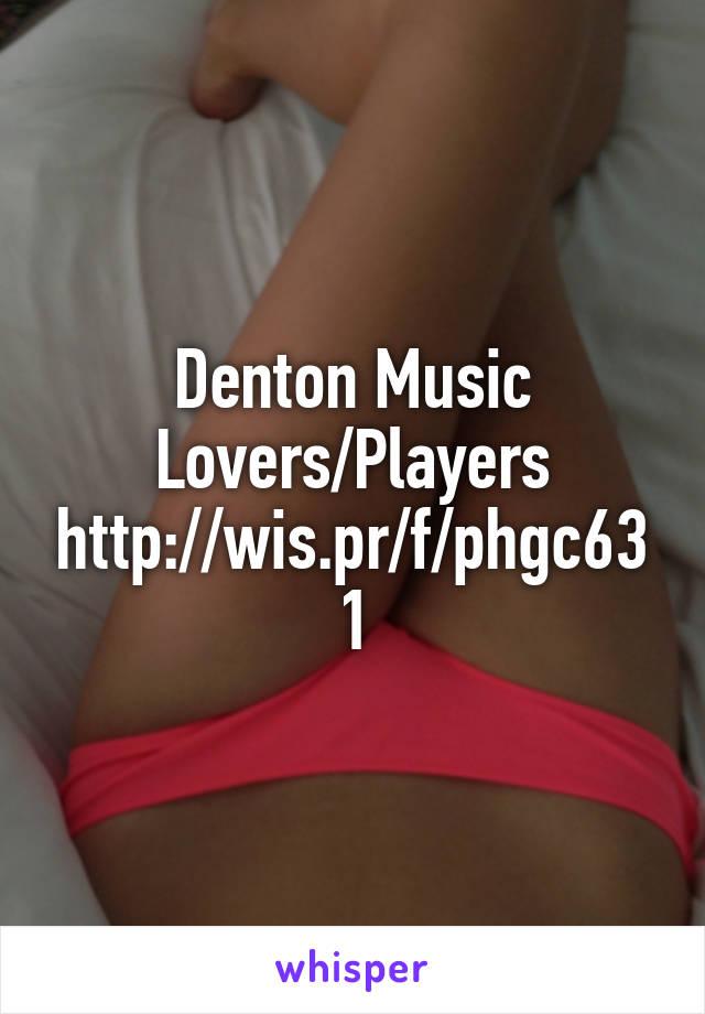 Denton Music Lovers/Players http://wis.pr/f/phgc631