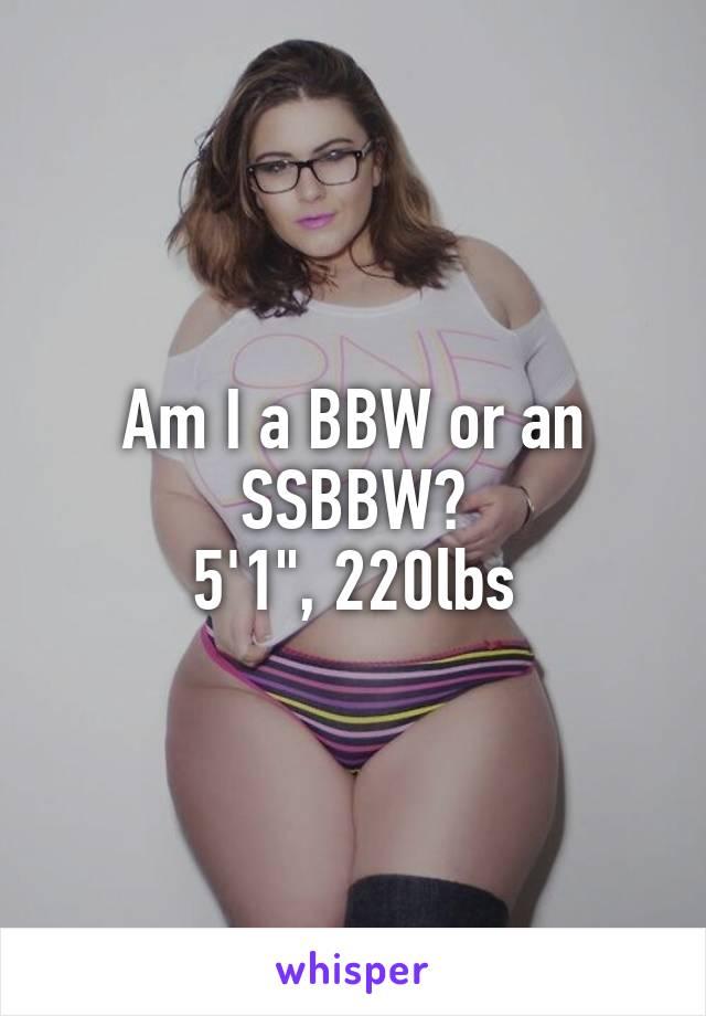 Bbw to bbw 1