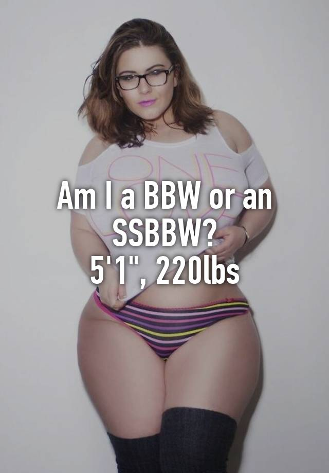 What is an ssbbw