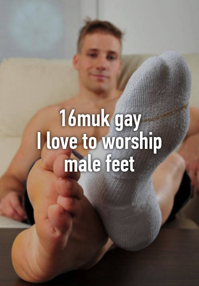 Worship feet gay