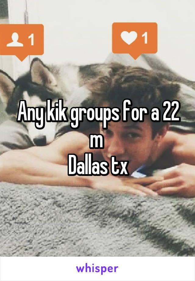 Kik groups dallas
