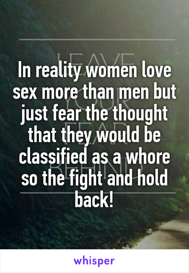 why women enjoy sex more than men