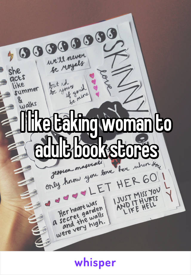 Women at adult book stores