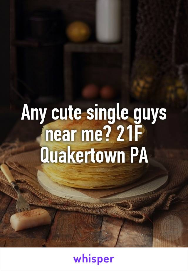 Single guys near me