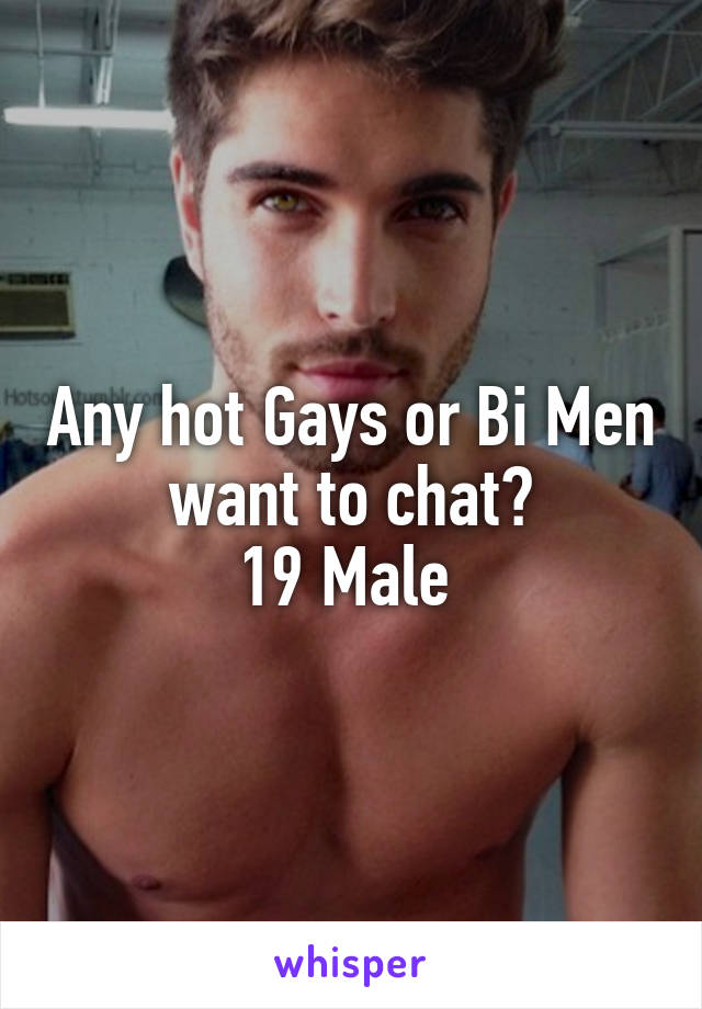 Hot men chat