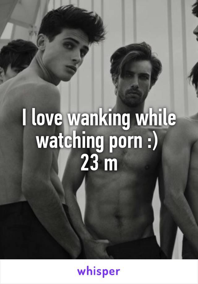 Watching Porn Jacking Off