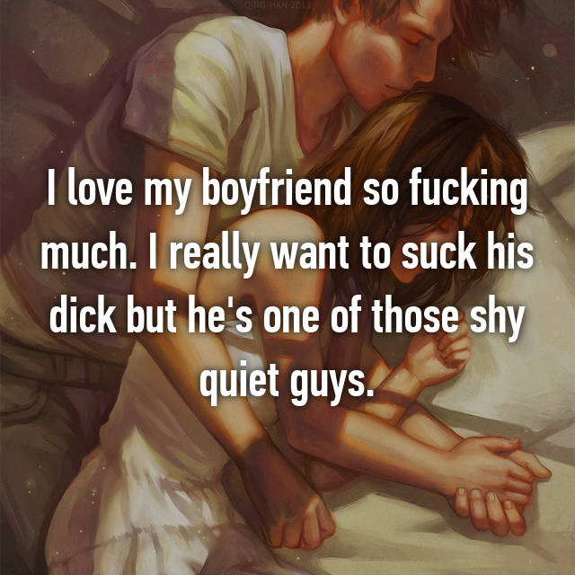 Fucking love shy sucking