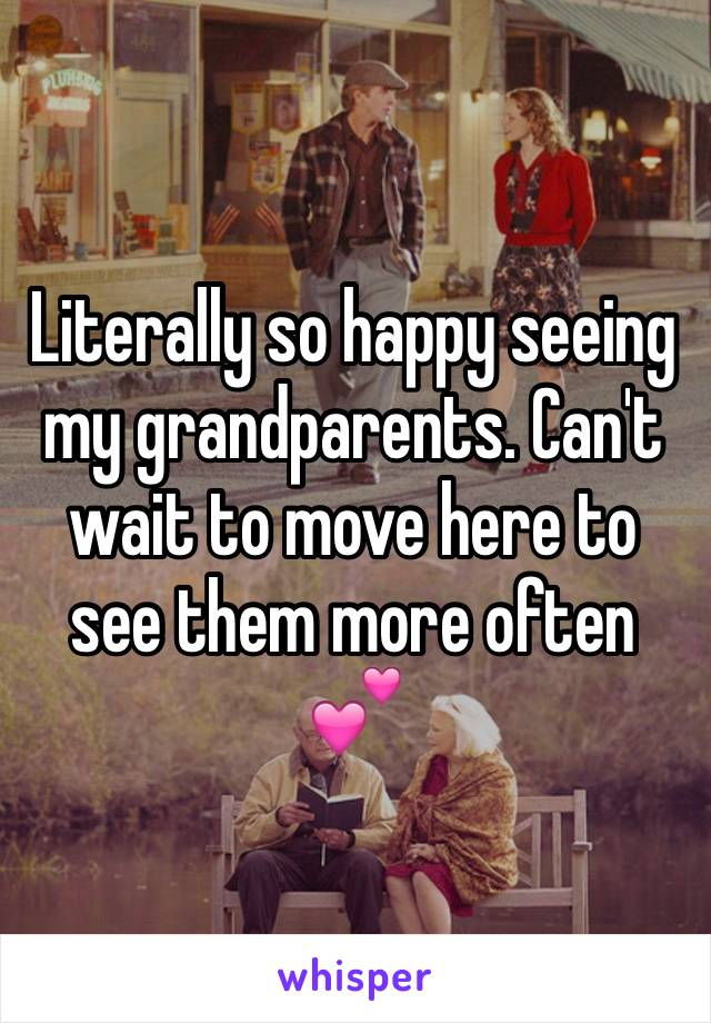Literally so happy seeing my grandparents. Can't wait to move here to see them more often 💕