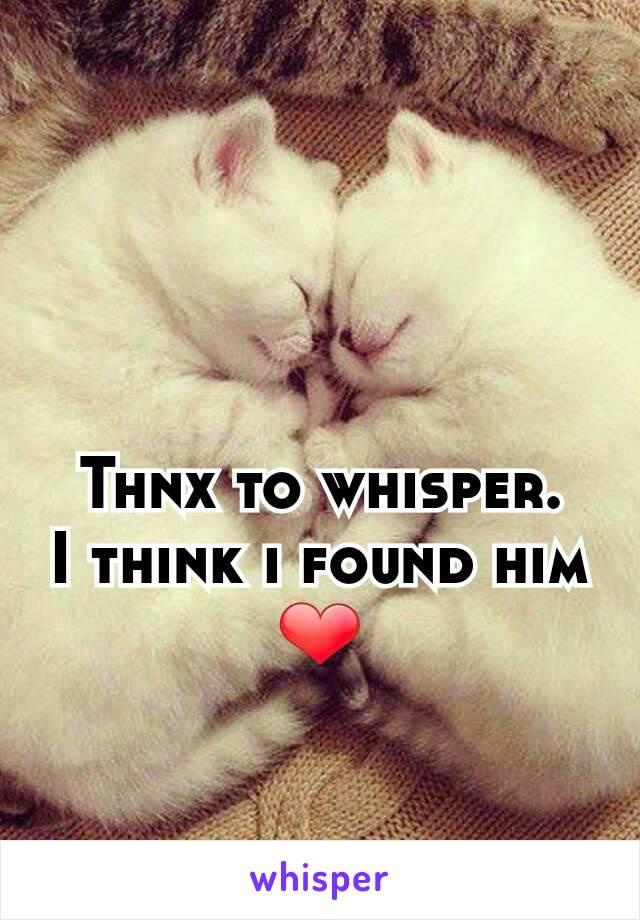 Thnx to whisper. I think i found him ❤