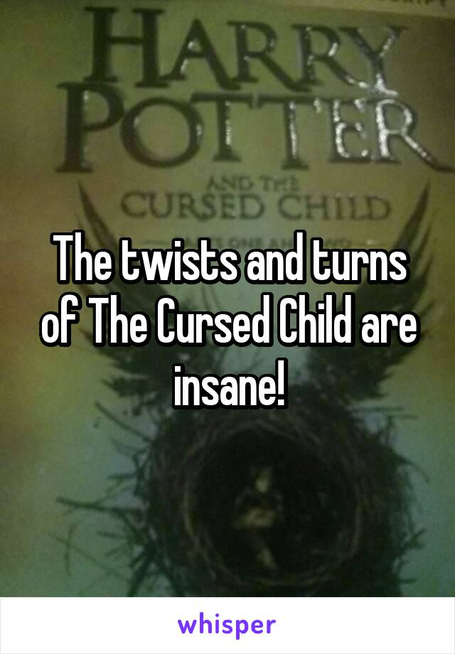 The twists and turns of The Cursed Child are insane!