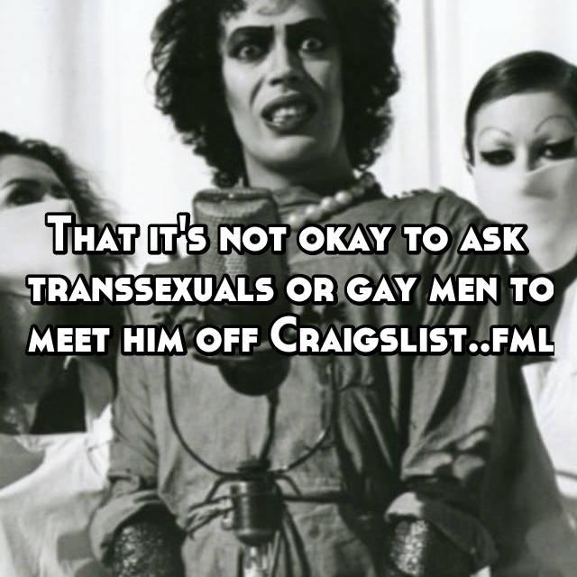 Craigslist transsexuals