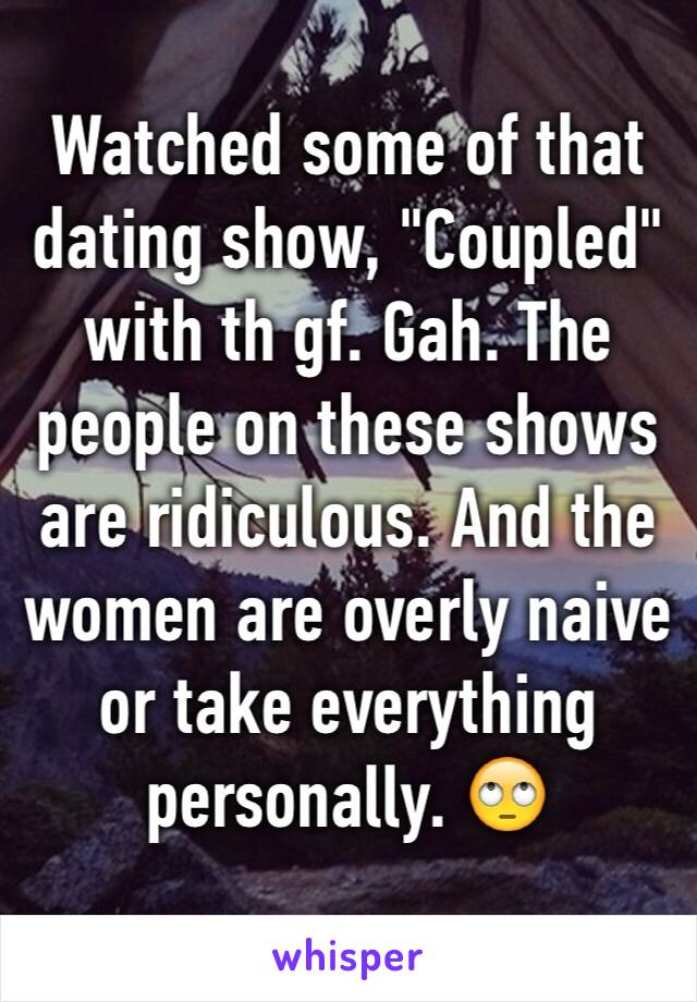 What Are Some Dating Shows