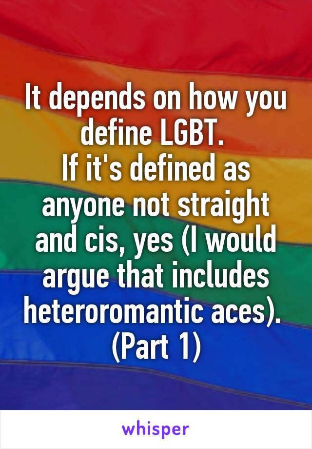 Define heteroromantic homosexual