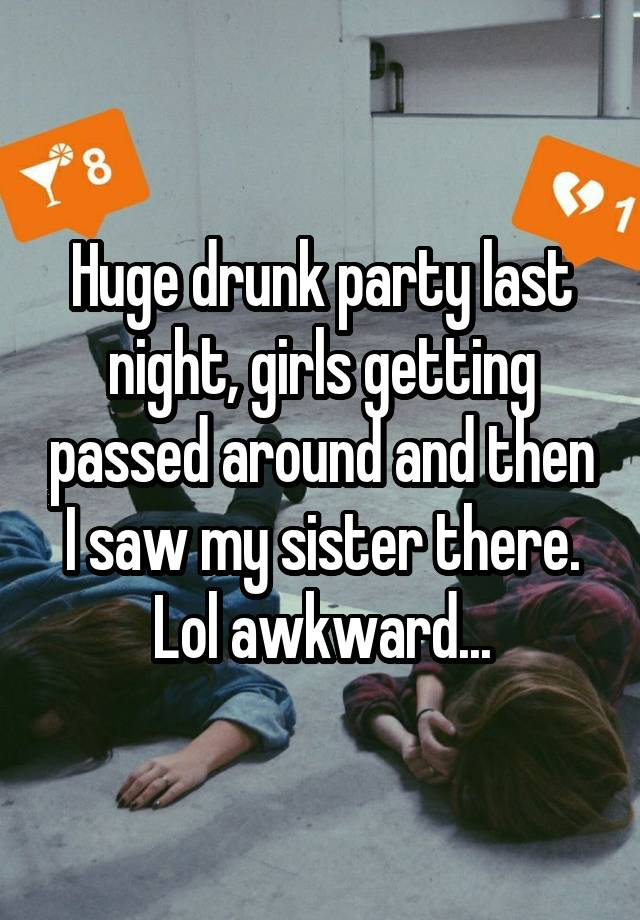 Passed Around Wife Drunk#3