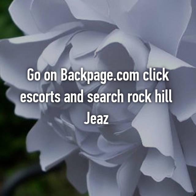 Backpage rock hill south carolina